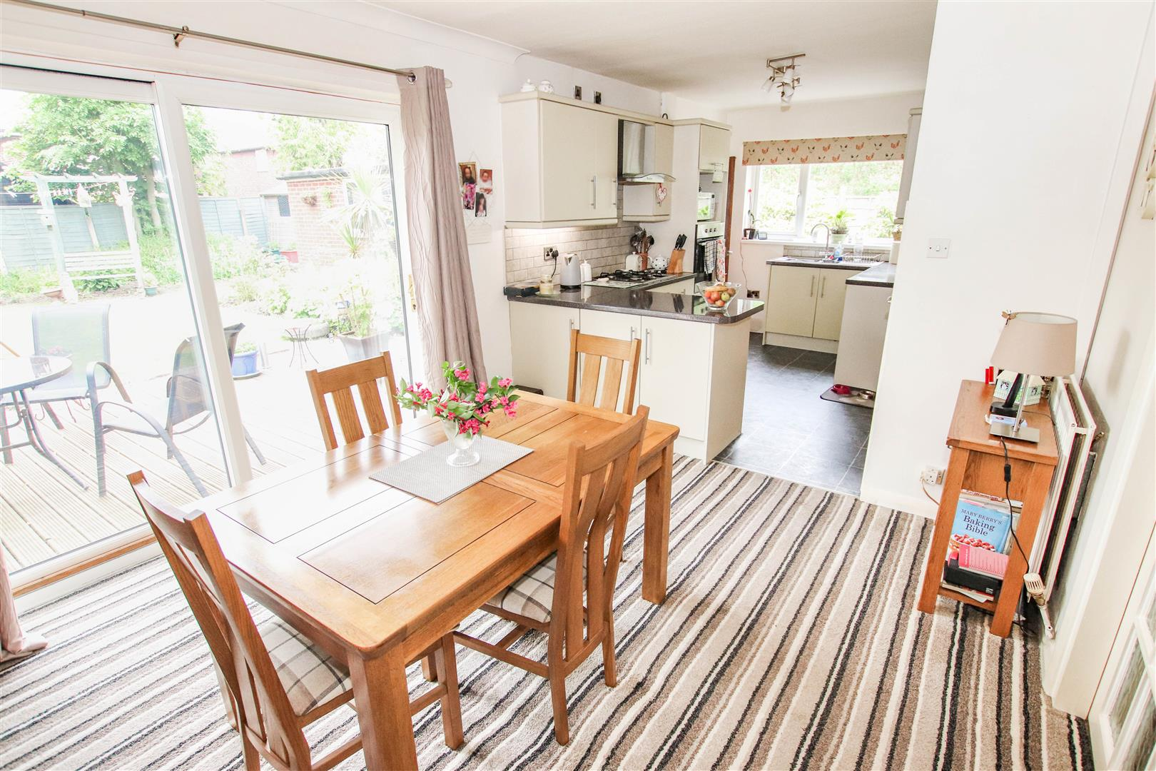 FULL WIDTH FITTED KITCHEN / DINING ROOM